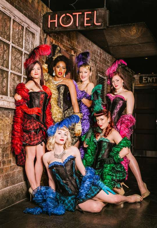 <B><I>Burlesque in the Park with the Folly Mixtures</I></B>