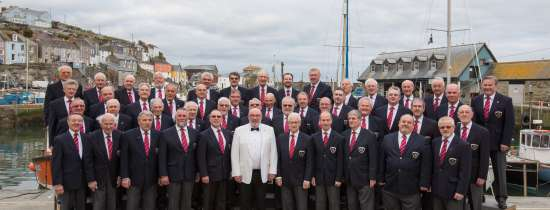 <B><I>Mevagissey Male Choir & Friends !</I></B>