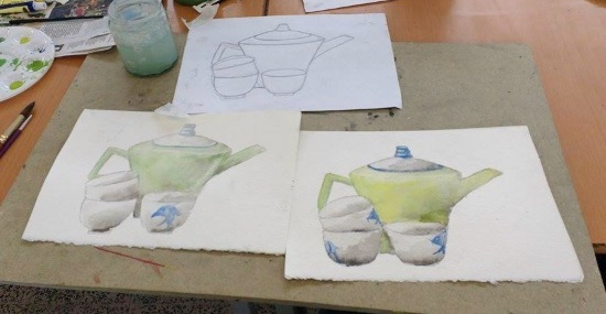 <B><I>Water Colour Workout</I></B>