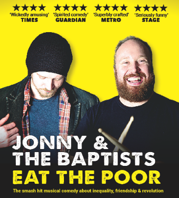 <B><I>Jonny & The Baptists  : 'Eat The Poor'</I></B>