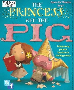 <B><I>Folksy Theatre : 'The Princess and the Pig'</I></B>