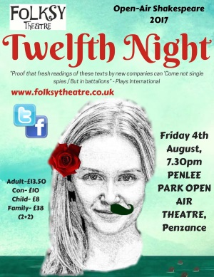 <B><I>Folksy Theatre : 'Twelfth Night'</I></B>