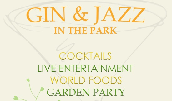 <B><I>Soma Events : 'Gin & Jazz in the Park'</I></B>