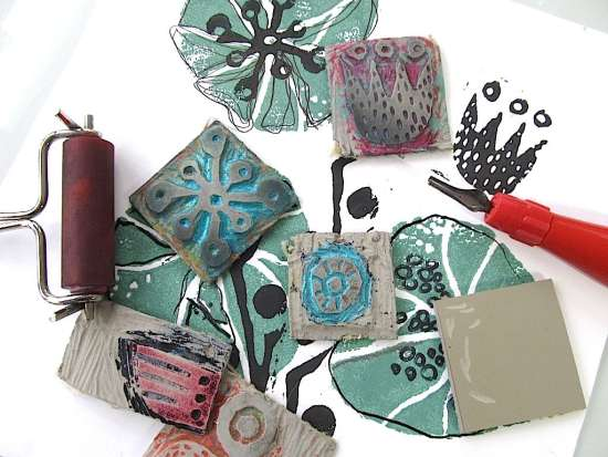 <B><I>Lino Printing For Beginners</I></B>