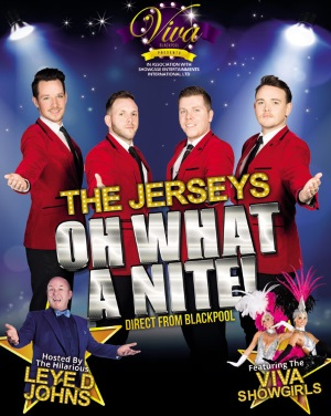 <B><I>The Jerseys : 'O What A Nite!'</I></B>