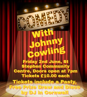 <B>Johnny Cowling : <I>'Comedy Night'</I></B>