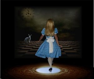<B><I>'Through The Looking Glass'</I></B>