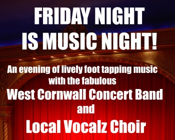 <B><I>Friday Night is Music Night !</I></B>