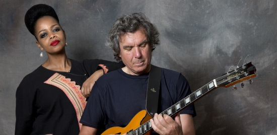 <B>John Etheridge and Vimala Rowe</B>