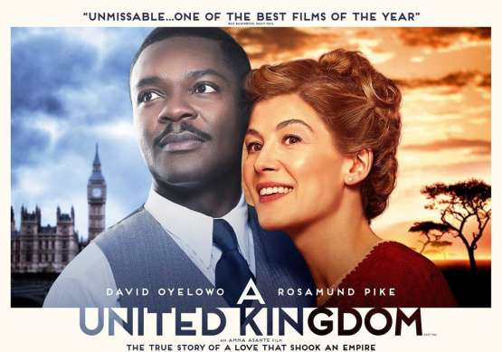 <B>Film : <I>A United Kingdom</I>   (Cert. 12A)</B>