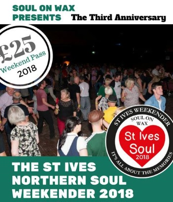 <B>2018 <I> Soul Weekend -St Ives: Cornwall</I></B>