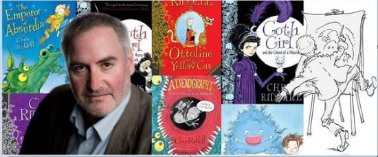 <B>Chris Riddell - children's illustrator & autho</B>