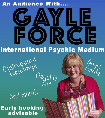 <B><I>'An Audience with Gayle Force'</I></B>
