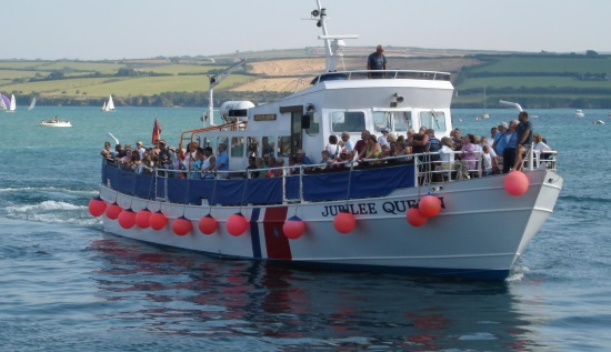 <B><I>'Jubilee Queen' </I>Cruise from Padstow</B>