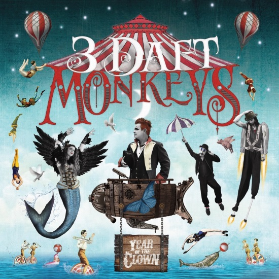 <b><i>The 3 Daft Monkeys - 'Year of the Clown' </I></B>