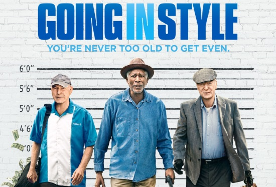 <B>Film: 'Going In Style' (Cert.12A) </B>