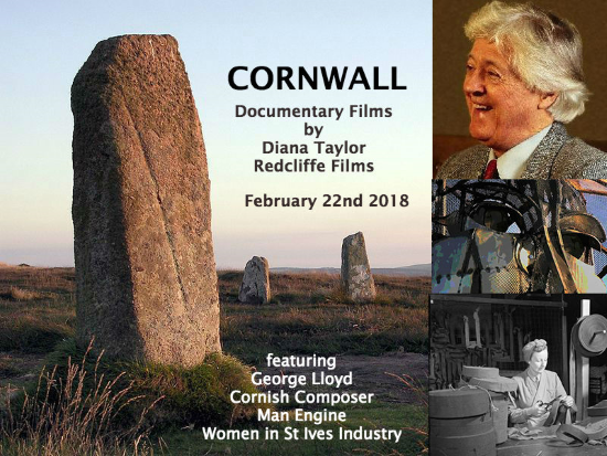 <B>Cornwall – 3 documentary films by Diana Taylor</B>