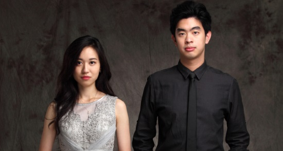 <B>Rose Hsien and Andrew Hsu</B>