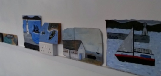 Alfred Wallis Painting Workshop