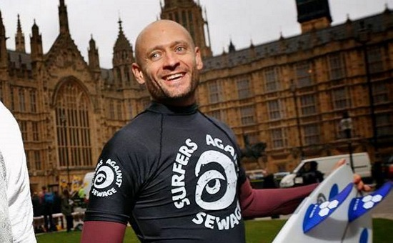 <B>Hugo Tagholm, CEO Surfers Against Sewage</B>