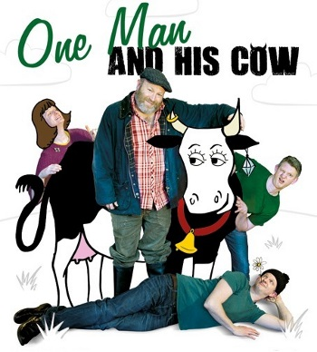 <B>Living Spit : <I>'One Man and his Cow'</I></B>