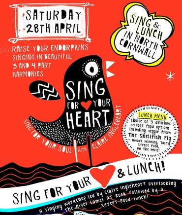 Sing for Your Heart and Lunch with Claire Ingleheart
