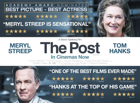 <B>Film: The Post (12A)</B>