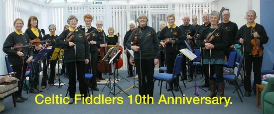 <B><I>The Celtic Fiddlers</I></B>