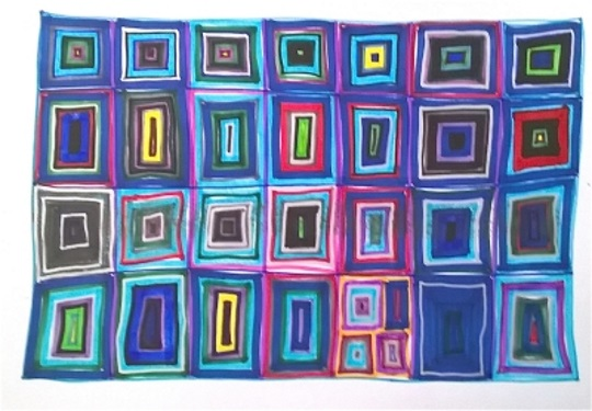 <B><I> Abstract Drawing</I></B>