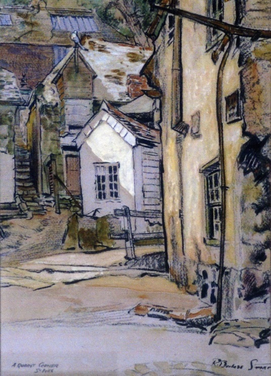 <B><I>Old St Ives viewed by the Artists</I> </B>