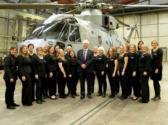 <B><I>Culdrose Military Wives' Choir</I> </B>