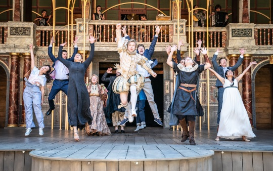 <B> Scene on Screen - The Winters Tale from the Globe Theatre, London</B>