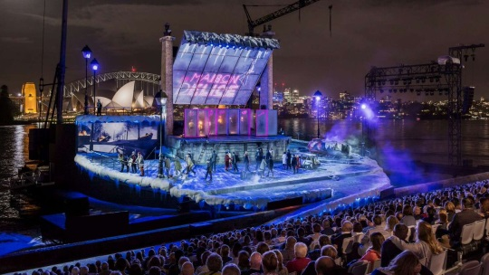 <B> Scene on Screen - La Boheme from Sydney Harbour</B>
