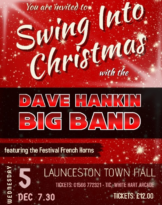 dave hankin big band swing into christmas - Big Band Christmas