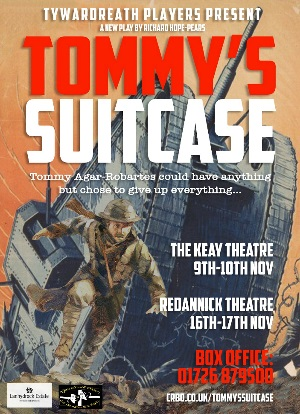 <B>Tywardreath Players present 'Tommy's Suitcase'</B>