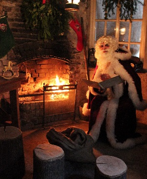 <B>Father Christmas Experience at The Lost Gardens of Heligan</B>