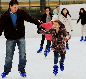 <B>Ice Skating at The Rockpool</B>