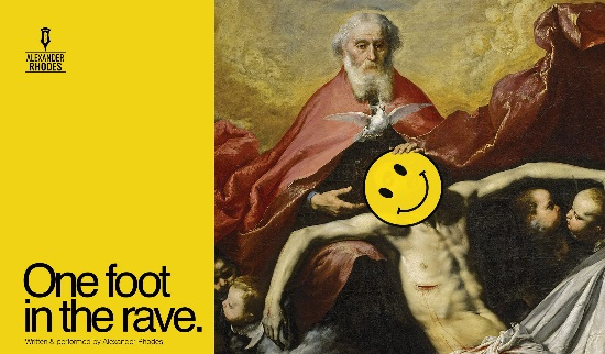 <B><I>'One Foot In The Rave'</I></B>
