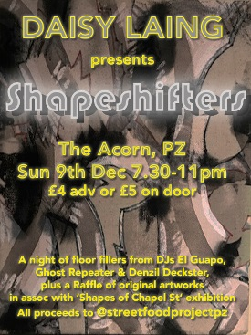 <B>Daisy Laing presents <I>'Shapeshifters'</I></B>