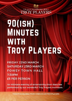 <B>90(ish) Minutes With Troy Players</B>