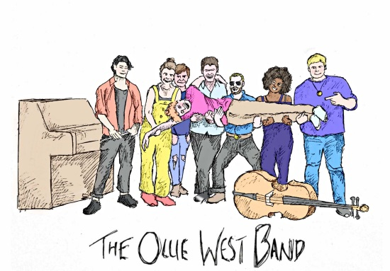 <B>The Ollie West Band</B>