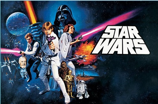 Film : 'Star Wars : New Hope' (Cert.PG)