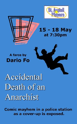 <B><I>'Accidental Death of an Anarchist'</I></B>
