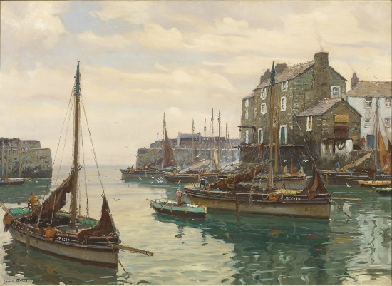 <B>A Private Viewing of Cornish Art</B>
