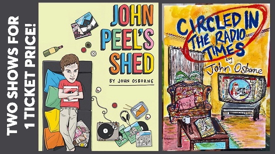 <B>'John Peel's Shed' & 'Circled in The Radio Times'</B>