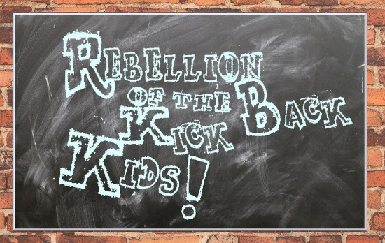 <B>'Rebellion Of The Kick Back Kids'</B>