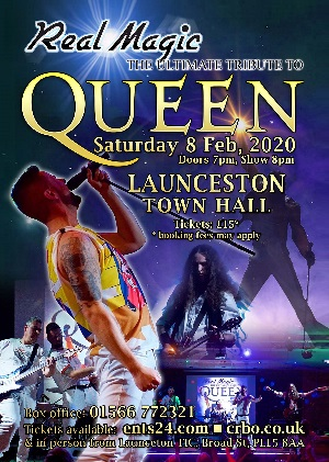 <B><I>Real Magic 'Queen' Ultimate Tribute </I></B>