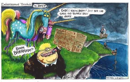 <B>'A Cartoon History of Brexit' : Martin Rowson</B>