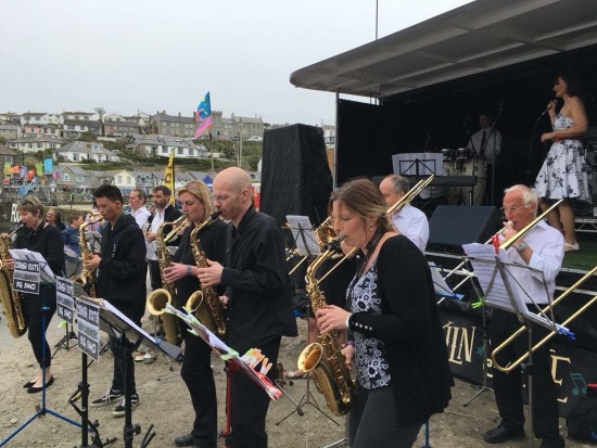 <B><I>Cornish Roots Big Band  </I></B>