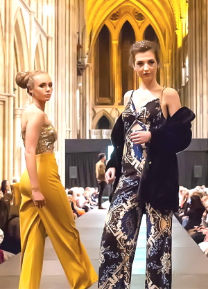 <B><I>Truro Trend Catwalk at the Cathedral</I></B>